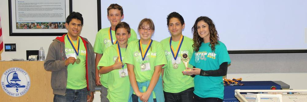 Robotics Team Winners